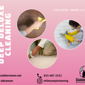 Deep Clean: Soldiers' Mom Style