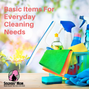 Basic Items For Everyday Cleaning Needs