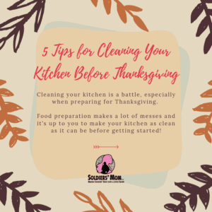 5 Tips for Cleaning Your Kitchen Before Thanksgiving