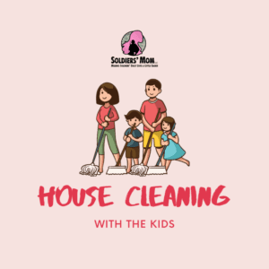House Cleaning With The Kids