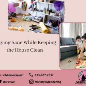 Staying Sane While Keeping the House Clean